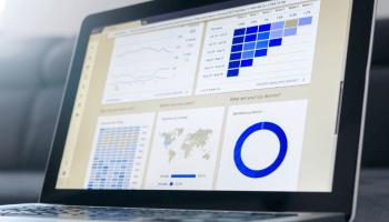 Data Visualization on Laptop